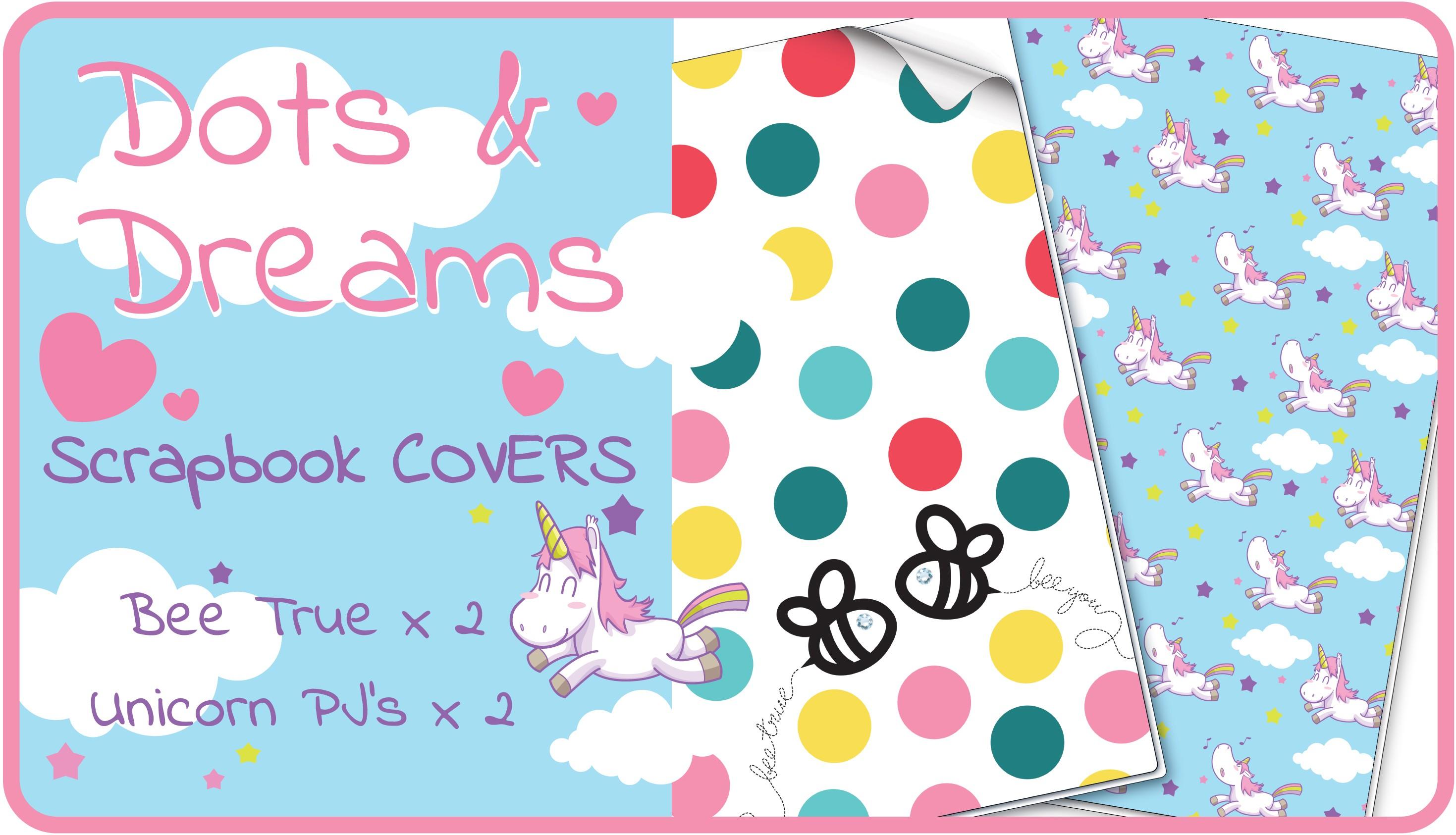 Dots & Dreams Scrapbook Cover Pack
