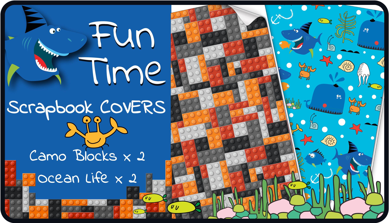 Scrapbook cover - Fun Time Scrapbook Cover Pack