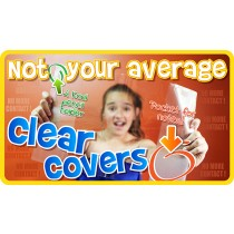 Clear A4 School Book Covers