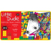 Little Dude Exercise Book Covers