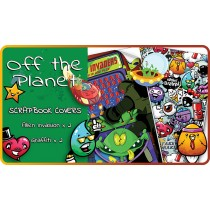 Off the Planet Scrapbook Cover Pack