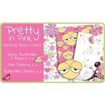 Pretty In Pink School Exercise Book Covers