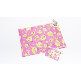 Cool Chick Pencil Case & ID Cover Set