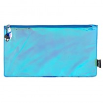 Blue Hologram Mirror Colour Change Pencil Case