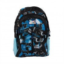 Blue Graffiti Backpack
