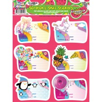 Watermelon Scratch n Sniff Book Labels