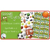 Google Eyes Scrapbook Cover Pack