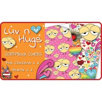 Luv n Hugs Scrapbook Cover Pack