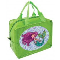Mermaid Lunch Cube - Insulated Lunch Bag  - Green