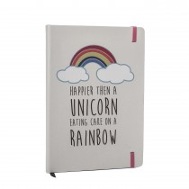 Factory Second - Rainbow Notebook Journal - Spelling Error on Cover