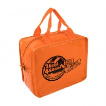 Orange Lunch Cube Lunch Bag