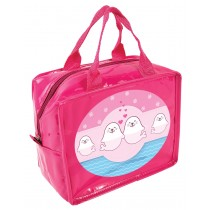 Sweet Seals Lunch Cube - Insulated Lunch Bag  - Pink