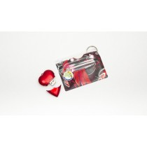 Heart USB & Bag Tag/ID Cover Set