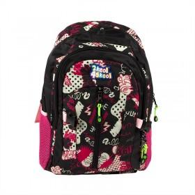 Pink Graffiti Backpack