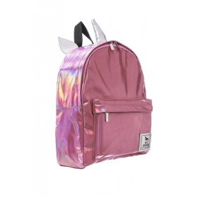 Pink Hologram Unicorn Backpack