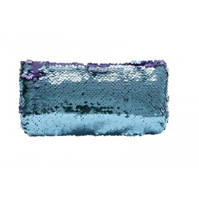 Blue Mermaid Sequin Colour Changing Pencil Case