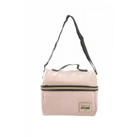 Blush Pink Insulated Lunch Bag