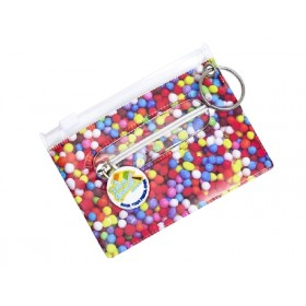 100's & 1000's Bag Tag, ID Holder, Student Card, Travel Pass Holder