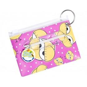 Cool Chick Bag Tag, ID Holder, Student & Transport Card Holder