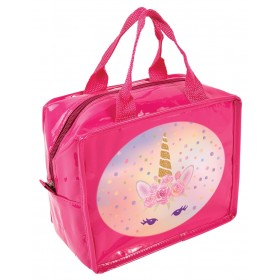 Sweet Unicorn Lunch Cube - Insulated Lunch Bag  - Pink