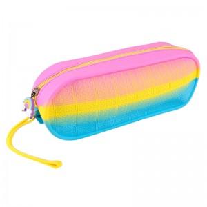 Rainbow Jelly Pencil Case