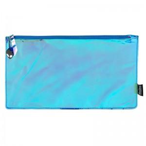 Blue Hologram Mirror Colour Change Pencil Case