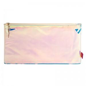 Pink Hologram Mirror Colour Change Pencil Cases
