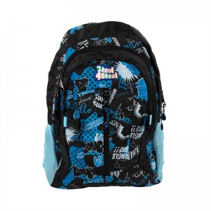 Blue Graffiti Backpack