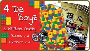 4 Da Boyz Scrapbook Cover Pack
