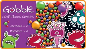 Gooble Scrapbook Cover Pack