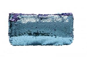 Blue Sequin Colour Changing Pencil Case