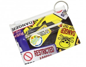 Danger Bag Tag, ID Holder, Student & Transport Card Holder