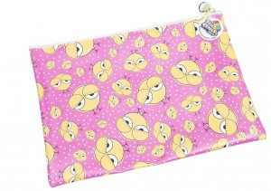 Cool Chick Satchel Pencil Case/Library Bag