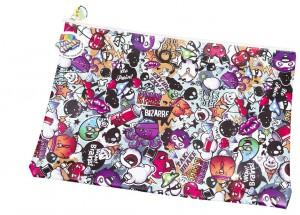 Graffiti Satchel Pencil Case/Library Bag